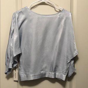 Aritzia Babaton Welsch blouse size S